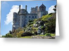 St Michael's Mount 1 Greeting Card