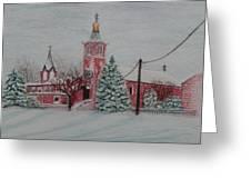 St. Nicholas Church Roebling New Jersey Greeting Card