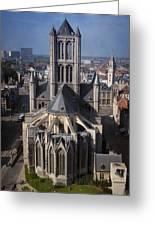 St Nicholas Church View Greeting Card