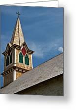 St Olaf Steeple Greeting Card