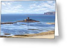 St Ouen's Bay Greeting Card