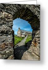 St Patrick Arch Greeting Card