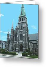 St Patrick Cathedral Greeting Card