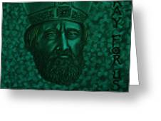 St Patrick Greeting Card