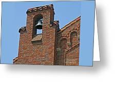 St Patrick Parish Bell Tower Greeting Card