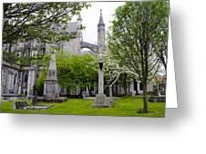 St Patricks Cathedral - Dublin Ireland Greeting Card