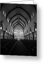St Patricks Cathedral Fort Worth Greeting Card