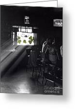 St. Patrick's Day At The Suffern Hotel Greeting Card