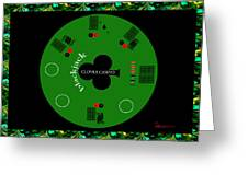 St. Patrick's Day Tournament - Featured In 'cards For All Occasions' Greeting Card