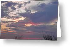 St Patty's Sunset Greeting Card