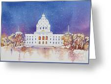 St. Paul Capitol Winter Greeting Card