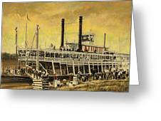St. Paul Steamboat Greeting Card