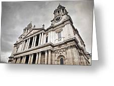 St Pauls Cathedral In London Uk Greeting Card