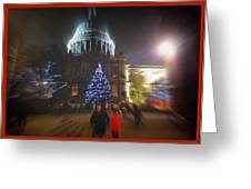 St. Paul's Cathedral London Greeting Card