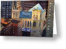 St Pauls Nyc Greeting Card