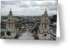 St Paul's View Greeting Card