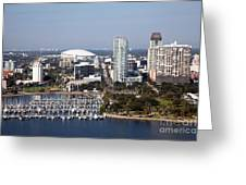 St Pete Florida Greeting Card