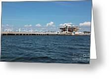 St Pete Pier Greeting Card by Carol Groenen