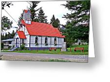 St Peters Anglican Church Greeting Card