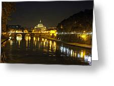 St Peters At Night Greeting Card