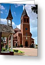 St Peters Catholic Church Greeting Card