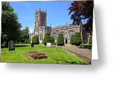 St Peter's Church - Tiverton Greeting Card