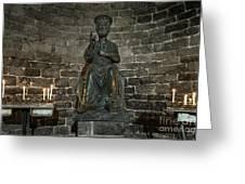 St Peters Medieval Church Porto Venere Greeting Card
