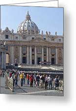 St. Peters - Vatican - Rome Greeting Card