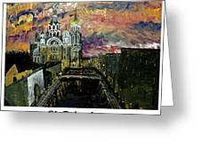 St  Petersburg Greeting Card