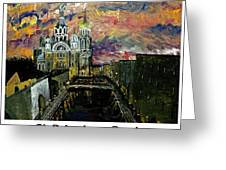 St  Petersburg Russia  Greeting Card