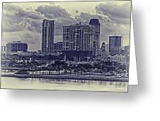 St Petersburg Waterfront Greeting Card