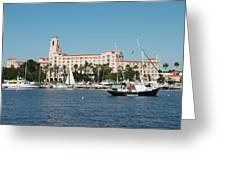 St. Pete's Vinoy Hotel Greeting Card