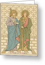 St Philip And St James Greeting Card