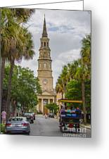 St. Philip's Episcopal Church Charleston Sc Greeting Card