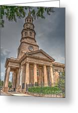St. Philip's Episcopal Church In Charleston Greeting Card