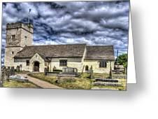 St Sannans Church Bedwellty 3 Greeting Card
