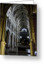 St. Severin Church In Paris France Greeting Card
