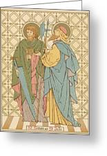 St Simon And St Jude Greeting Card