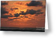 St Simons And Sea Island Sunrise Greeting Card