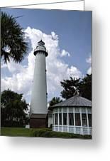 St. Simon's Island Georgia Lighthouse Greeting Card