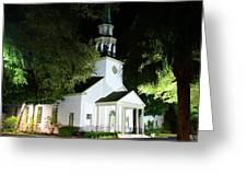St Simons Island Presbyterian Church Greeting Card