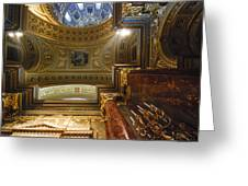 St. Stephens Ceiling 1 Greeting Card