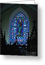 St Thomas Stained Glass Greeting Card