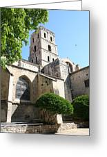St Trophimus Courtyard Greeting Card
