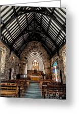 St Tudcluds Church Greeting Card by Adrian Evans