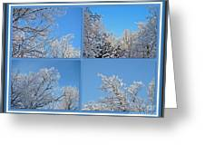 St. Valentine's Day Snowstorm Greeting Card