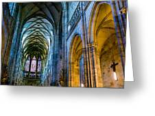 St Vitus Cathedral Greeting Card