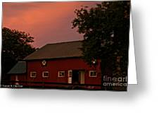 Stable Barn Greeting Card