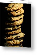 Stack Of Cookies Greeting Card