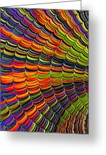 Stacked Colors Greeting Card